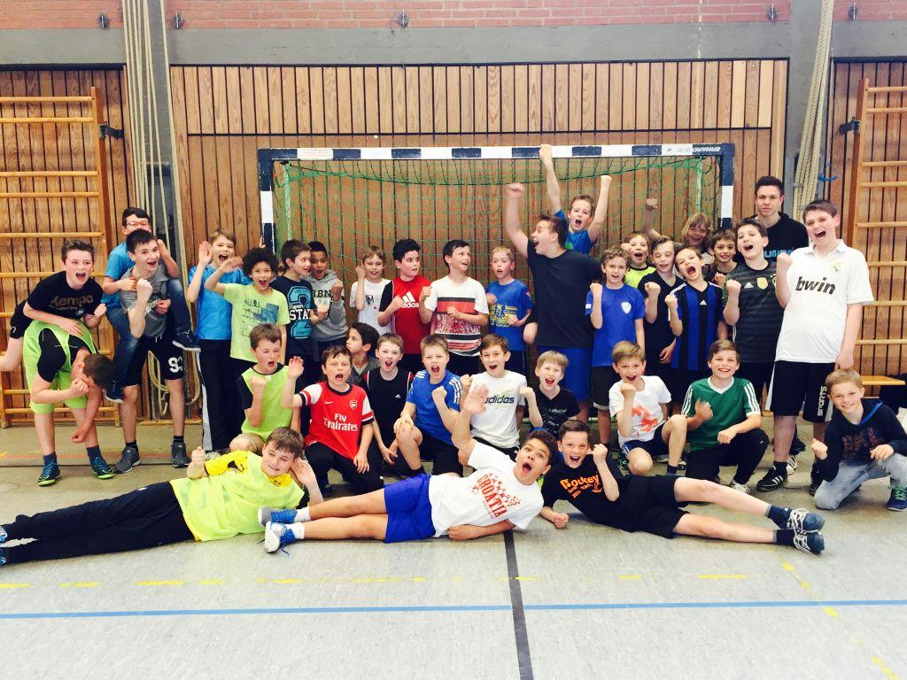 Handballturnier der 5. Klassen