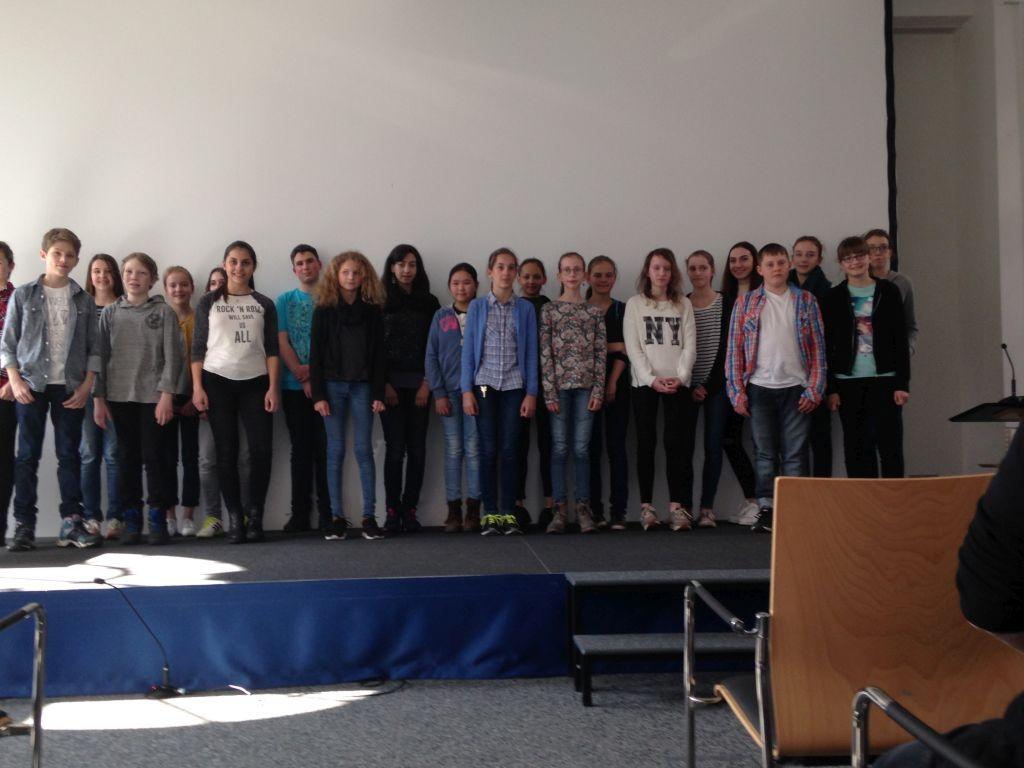 Französischer Vorlesewettbewerb 2016