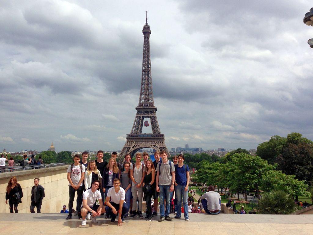 Studienfahrt nach Paris 2016