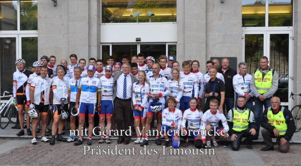 Friedensfahrt nach Oradour 2015